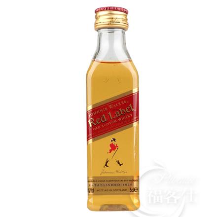 40°英国尊尼获加红牌威士忌小酒伴50ml