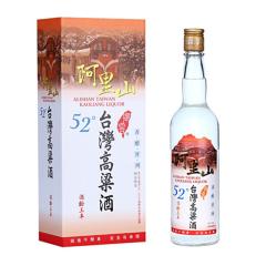 【京东配送】52°台湾高粱酒御窖阿里山三年600ml