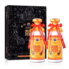 【茅台特卖】52°茅台集团贵州囍酒礼盒装500ml×2(2003年)
