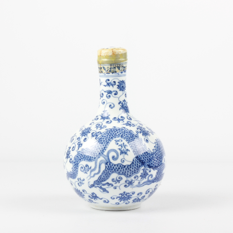 45度 台湾仿故宫瓷瓶纪念酒 1993年600ml 陈年老酒(老酒)