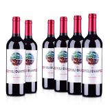 【超级返现】智利魅利干红葡萄酒750ml(6瓶装)