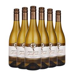 13.5°美国蒙大菲双橡园霞多丽2013白葡萄酒750ml(6支装)