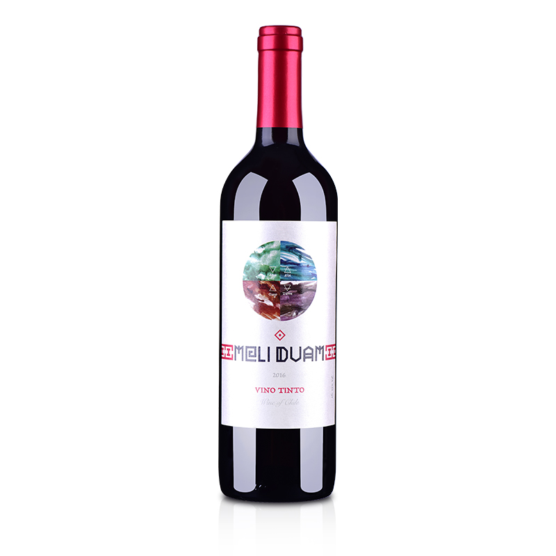 【包邮】智利红酒智利魅利干红葡萄酒750ml