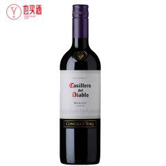 干露红魔鬼梅洛红葡萄酒750ml