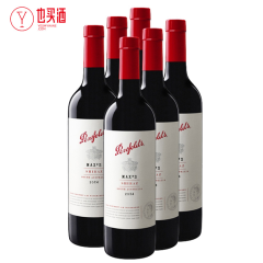 奔富麦克斯西拉干红葡萄酒750ml   6支装