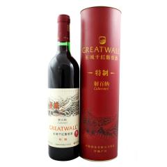 12.5°中粮长城特制解百纳干红葡萄酒750ml