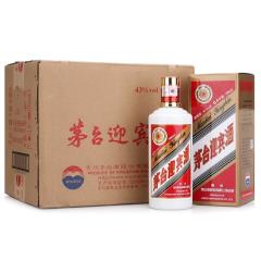 【酒厂直供】43°茅台迎宾酒500ml(6瓶装)