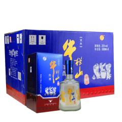 35°牛栏山百年老酒蓝色经典500ml*6瓶整箱