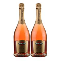 意大利进口 马天尼粉红起泡葡萄酒  750ml 2瓶组合装