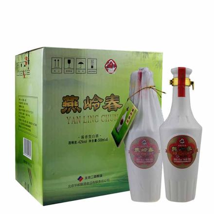 42°北京华都燕岭春500ml(6瓶装)