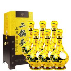 45°牛栏山经典二锅头黄龙500ml(6瓶装)