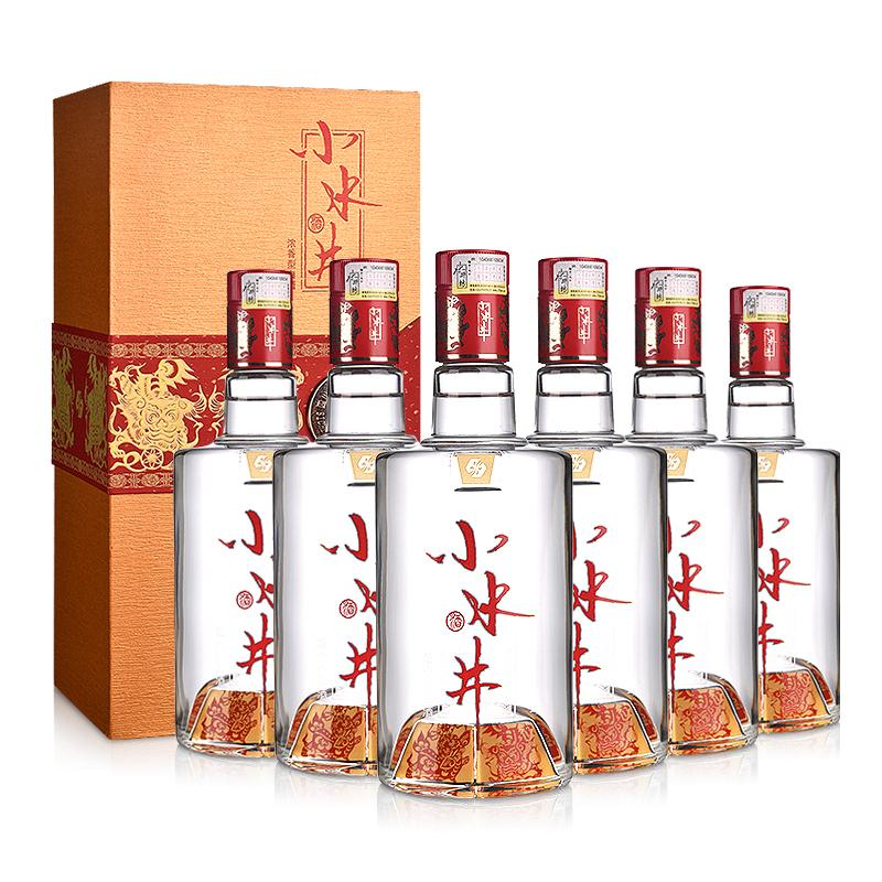 52°水井坊小水井500ml(6瓶装)