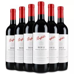 澳大利亚奔富Penfolds2/bin2干红葡萄酒750ml(6瓶装)