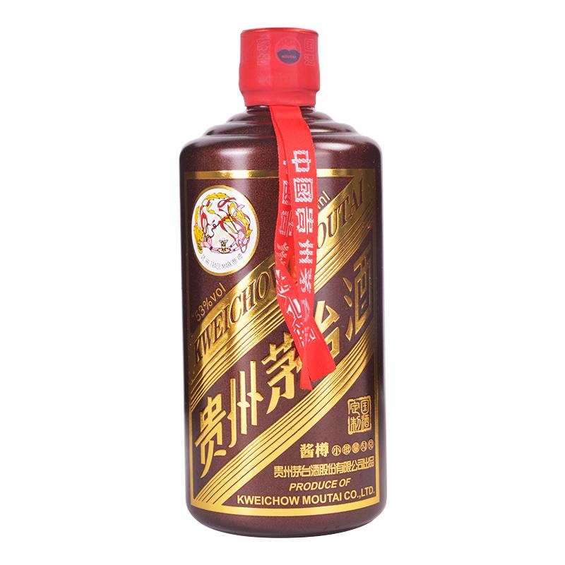 53°飞天茅台酱色酱樽500ml(小批量勾兑)