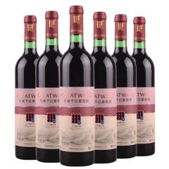 中粮长城出口型宝石解百纳干红葡萄酒750ml(6瓶装)