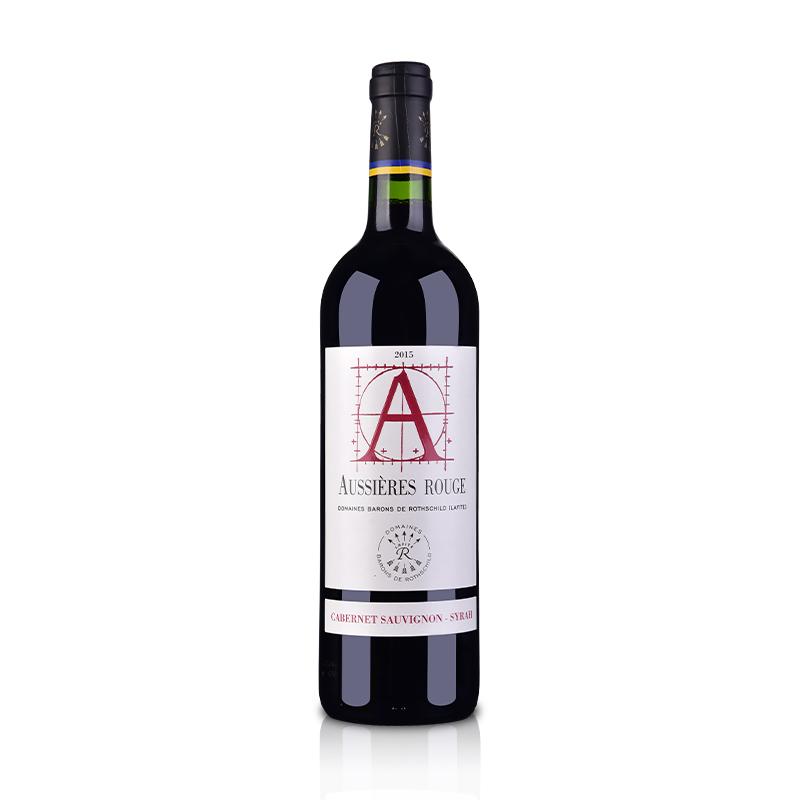 法国拉菲集团2015奥希耶干红葡萄酒750ml