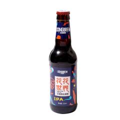 本草园龙精酿花花世界IPA精酿啤酒330ml