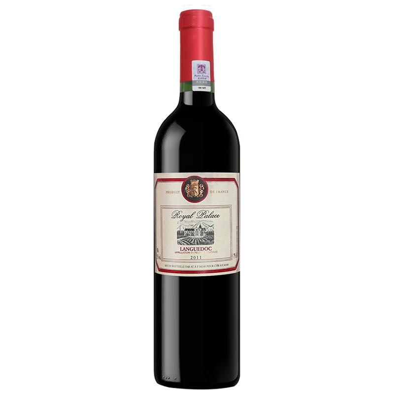 法国皇家干红葡萄酒(黄标)750ml