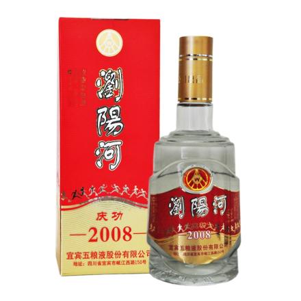 39º宜宾五粮液股份出品 浏阳河 庆功2008酒 浓香型老酒  475ml(2006年)