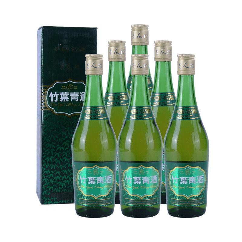 38°竹叶青(2004-2005年)500ml*6瓶装