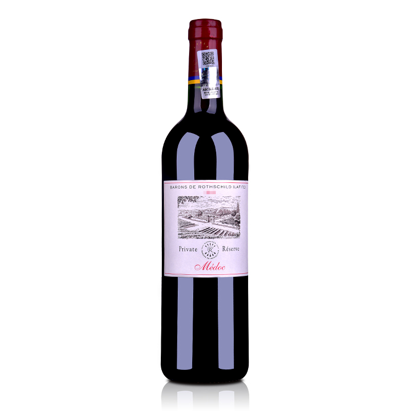 【随时随意波尔多】法国红酒拉菲珍酿梅多克法定产区葡萄酒750ml(ASC正品行货)
