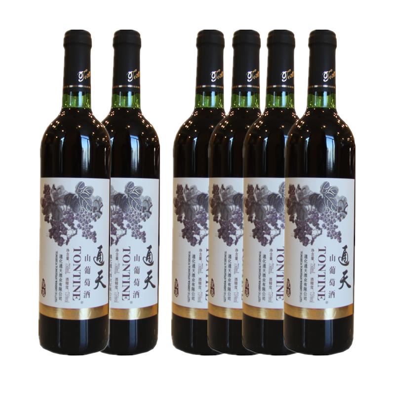 中国通天山葡萄酒优选750ml(6瓶装)