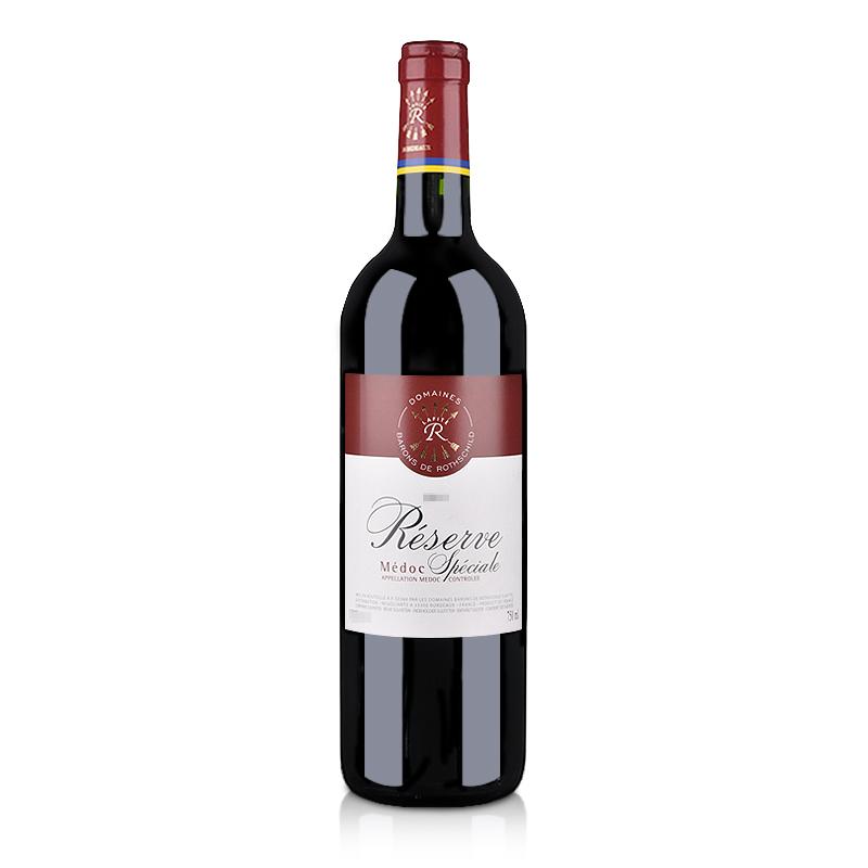 【随时随意波尔多】法国红酒拉菲珍藏梅多克法定产区红葡萄酒750ml(ASC正品行货)