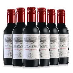 醉梦红酒 拉菲红酒原瓶进口巴斯克庄园 巴斯克卡本妮苏维翁干红葡萄酒整箱6支装187ml*6