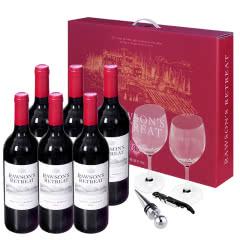 澳大利亚洛神山庄设拉子干红葡萄酒750ml(6瓶聚享装)