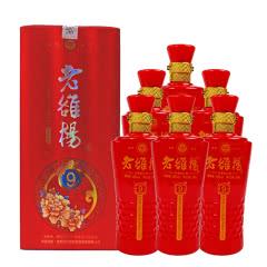 46°杜康村老雒楊(9)浓香型白酒500ml(6瓶装)