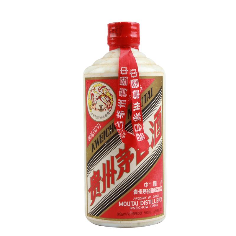 【酒逢知己】38° 茅台飞天红皮 500ml(1991年-96年)
