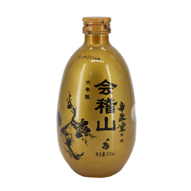 11°绍兴黄酒会稽山帝聚堂六年花雕375ml