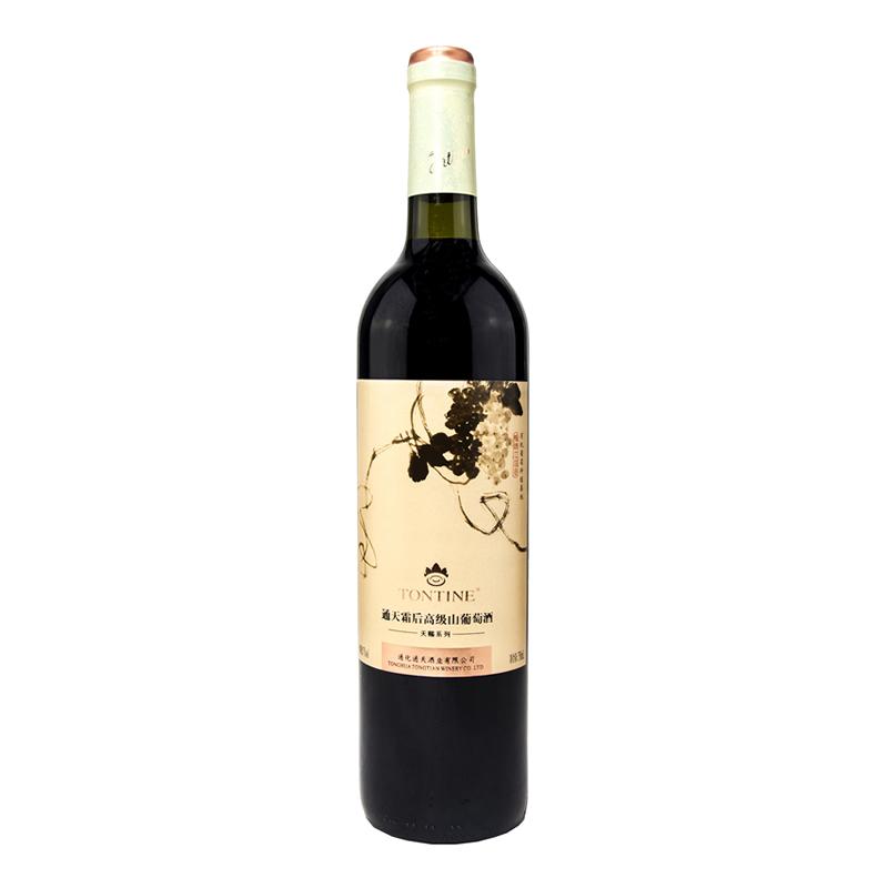 中国通天霜后高级山葡萄酒女士红酒750ml
