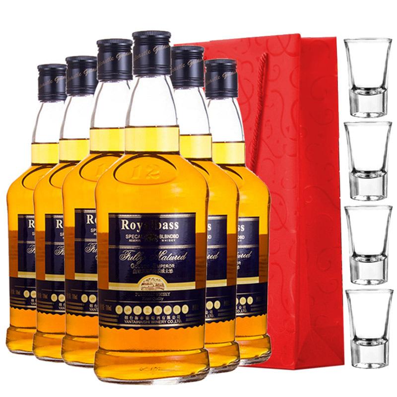 23°皇家贝斯美乐whisky威士忌700ml(6瓶装)