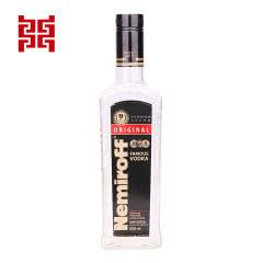 40°俄罗斯雷米诺Nemiroff Original黑牌原味伏特加500ml