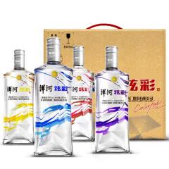 50° 洋河 炫彩  白酒 480ml(4瓶装)