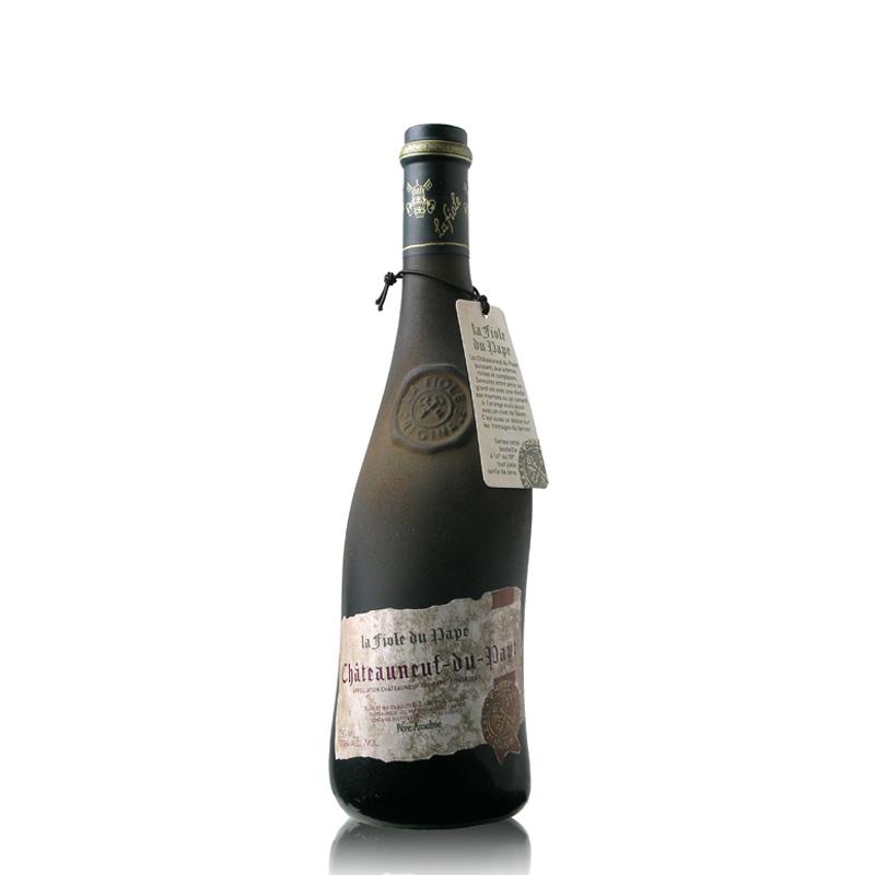 法国红酒原瓶进口红酒教皇新堡芙华干红葡萄酒单支装750ml