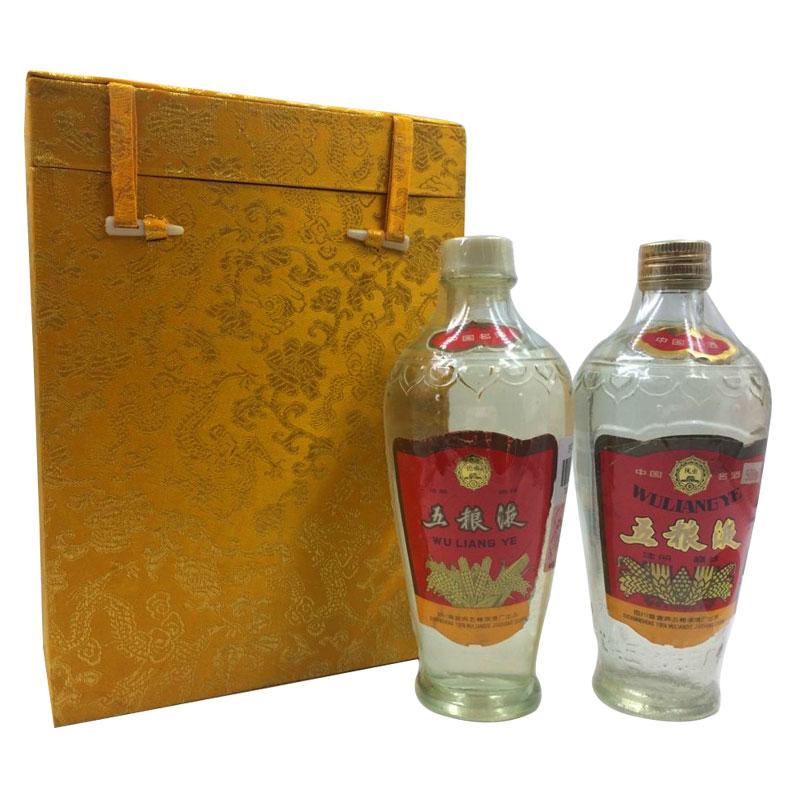 52°双圈五粮液 500ml(双瓶)带礼盒85-89年