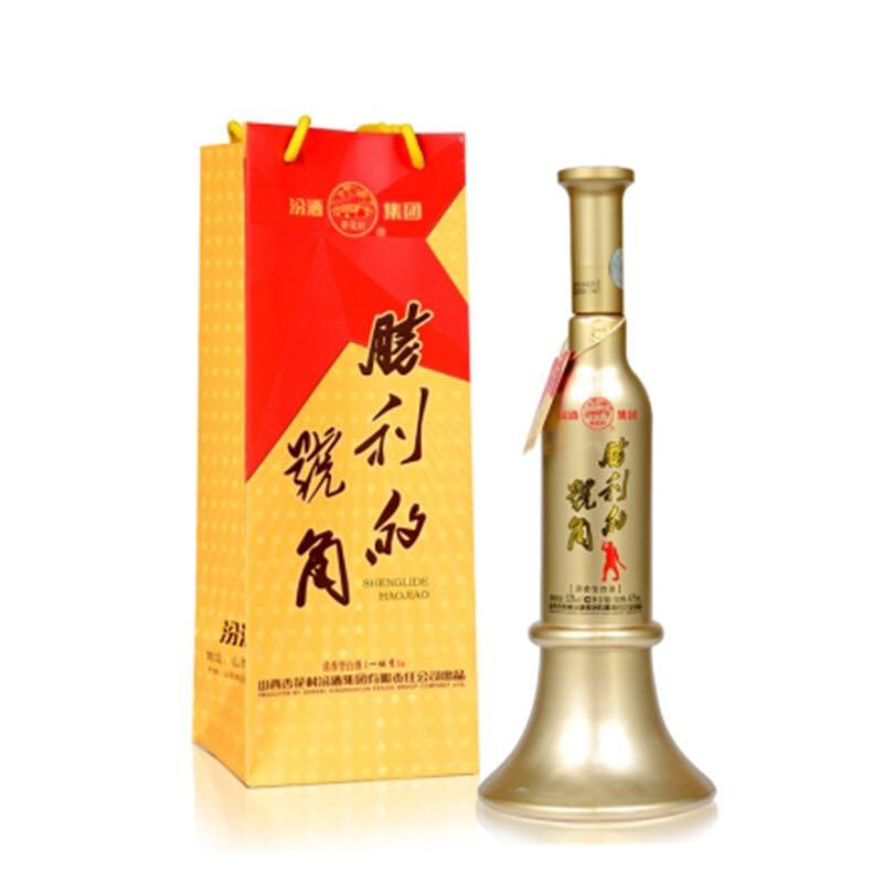 53°汾酒集团胜利的号角清香型白酒475ml