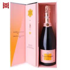 """12.5°法国凯歌粉红香槟""""语爱""""礼盒750ml"""