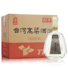 58°台湾玉山高粱酒(精选窖藏)600ml台湾白酒整箱(6瓶装)