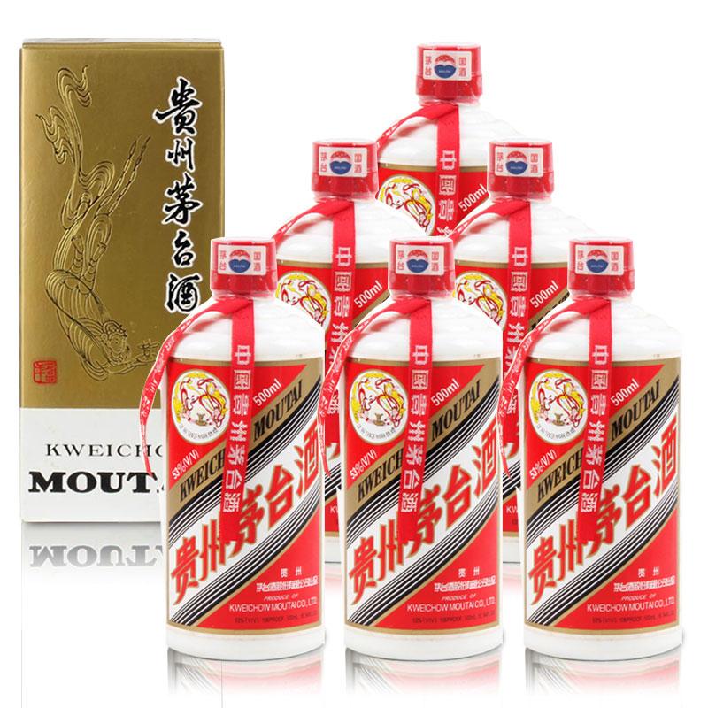 53°茅台飞天500ml(2006年6瓶装)