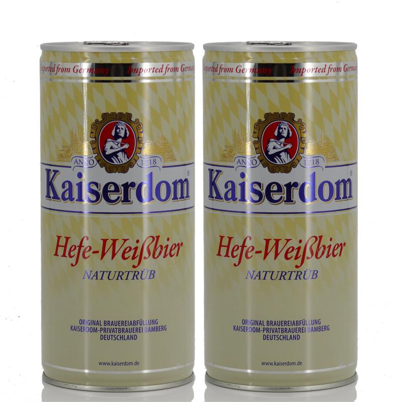 德国原装进口Kaiserdom凯撒白啤1000ml*2