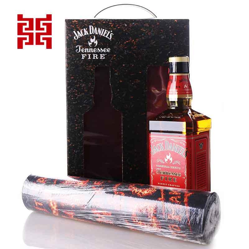 原装进口 美国杰克丹尼田纳西州威士忌火焰杰克力娇酒 礼盒