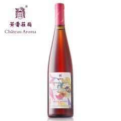 新疆有机红酒 红蝶谷芳香之恋桃红葡萄酒 750ml