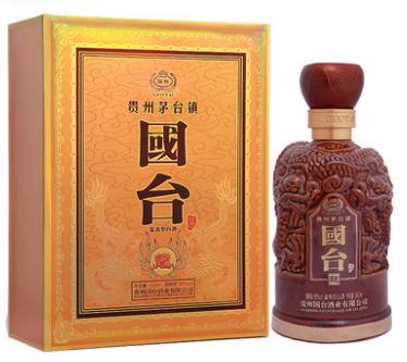 【酒逢知己】53°贵州国台龙酒500ml