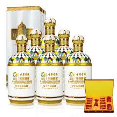 45°古井贡哈萨克斯坦世博会纪念酒 750ml (6瓶装)+古井贡举一反三酒具