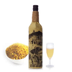18°桂林特产桂花酒麻绳装特酿桂花蜜酒果露酒750ML