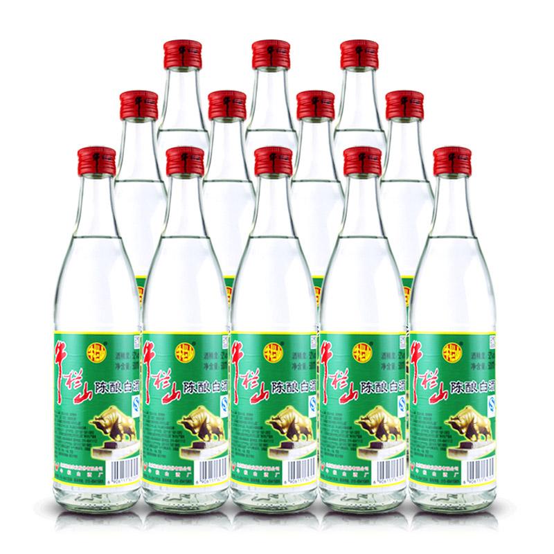 52°牛栏山陈酿整箱装500ml*12瓶装