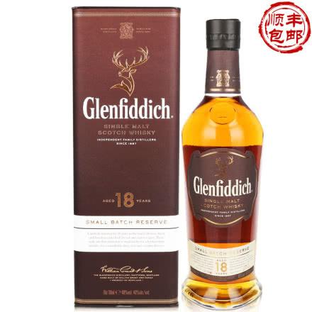 40°英国格兰菲迪18年单一麦芽威士忌700ml